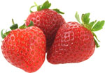 Best fruits in pregnancy - Strawberries