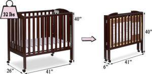 Dream On Me 3-in-1 portable folding mini crib Review