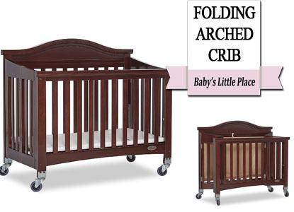 Dream On Me Venice Folding Mini Portable Crib