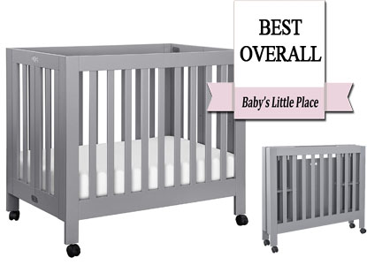 The best mini portable cribs - Babyletto Origami folding crib