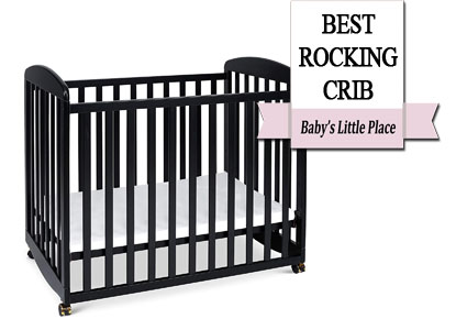 Best rocking crib on wheels: DaVinci Alpha mini rocking crib