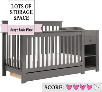 DaVinci Piedmont 4-in-1 Crib with drawer and Changer Combo Review