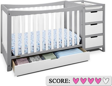 Graco Remi 4-in-1 convertible crib and changer Review