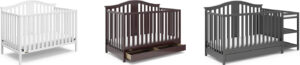 Storkcraft Graco Solano 4-in-1 Convertible Crib (and Changer, with Drawer) Review