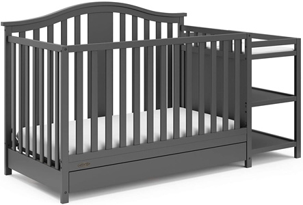 Graco Solano 4-in-1 convertible crib and Changer with Drawer Review