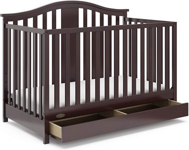 Graco Solano 4-in-1 convertible crib with under-crib Drawer Review