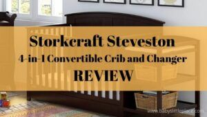Storkcraft Steveston 4-in-1 Convertible Crib and Changer with Drawer REVIEW