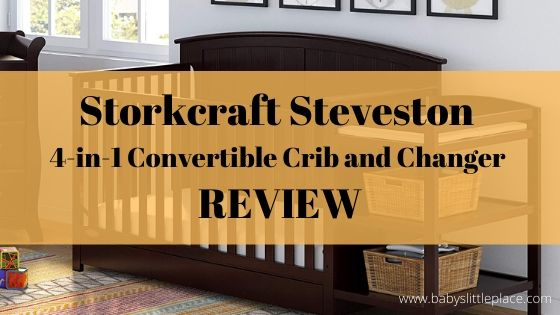 Storkcraft Steveston 4-in-1 Convertible Crib and Changer Review