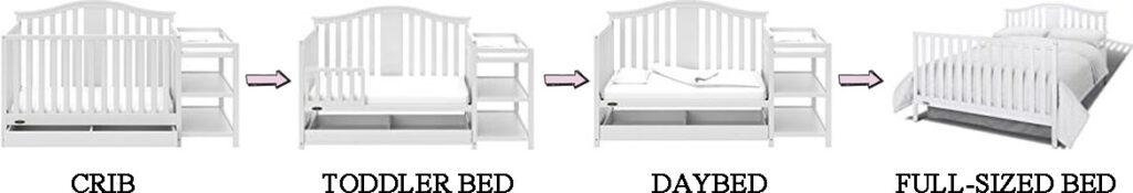 Storkcraft Steveston Convertible Crib Review - Conversions
