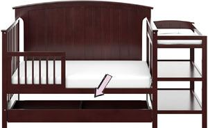 Storkcraft Steveston toddler bed and Changer with Drawer Review