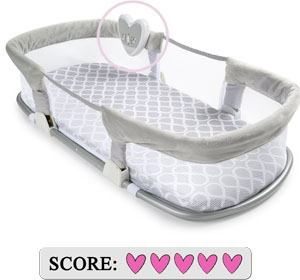 Best co-sleeping bed - SwaddleMe By Your Side Sleeper - Deluxe