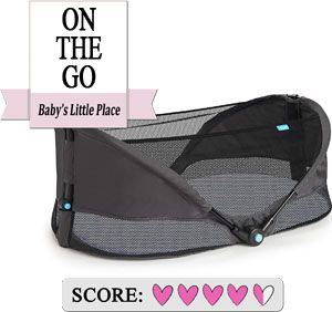 Best co-sleeping bed - Munchkin Brica Fold N' Go Travel Bassinet