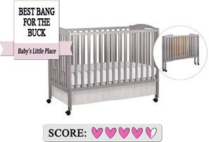 Best Full Size Folding Cribs On Wheels - Dream On Me
