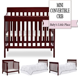 Best Baby Cribs   Mini Convertible Crib