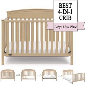 Best Baby Cribs   Best 4-in-1 convertible crib