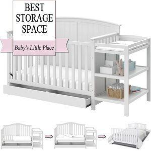 Best Baby Cribs | Multiple Storage Space