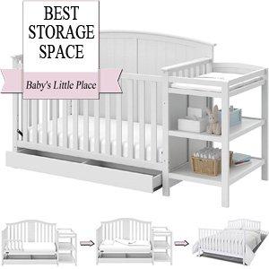 Best Baby Cribs   Multiple Storage Space