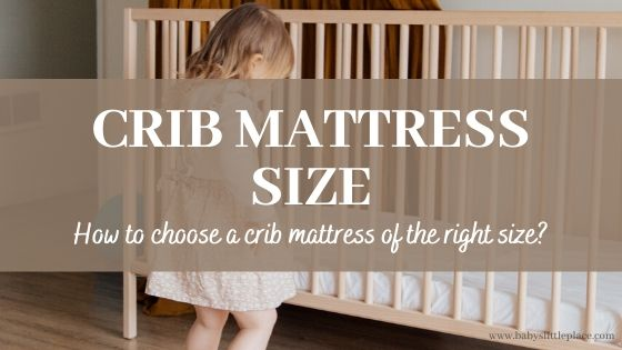 Baby crib mattress size