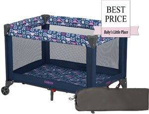 The cheapest Pack 'N Play: Cosco Funsport Play Yard