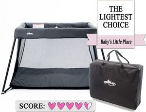 The Best Cheap Travel Cribs: UNiPlay Portable Lightweight Travel Crib