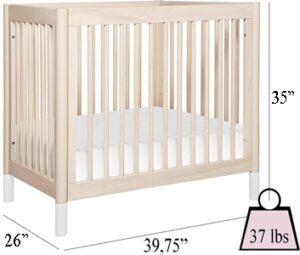 Babyletto Gelato 2-in-1 Mini Crib's Specifications