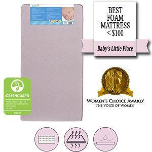 Best foam mattress < $100 - Safety 1st Heavenly Dreams