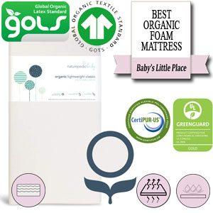 The Best organic foam crib and toddler mattress - Naturepedic