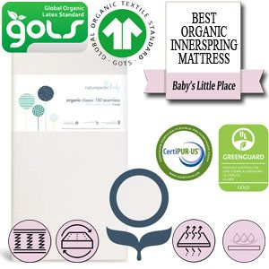 The Best organic innerspring crib and toddler mattress - Naturepedic
