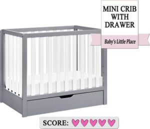 Carter's by DaVinci Colby 4-in-1 Convertible Mini Crib Review