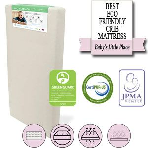 The best baby crib mattres - Colgate Eco Classica III two-stage mattress