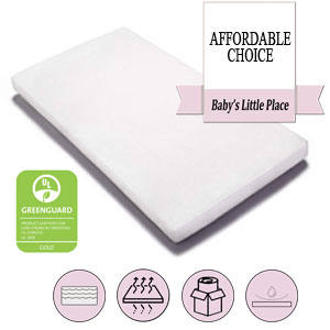 The best baby crib mattress in a box - Graco Premium