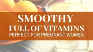 Vitamin Bomb Smoothie for Pregnant Women