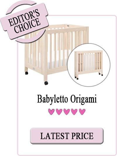 Best Mini Cribs - Babyletto Origami Portable Folding Crib
