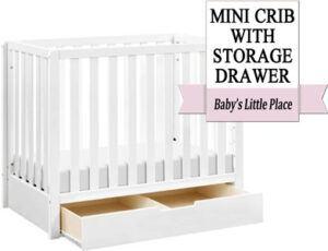 Best mini crib with under crib drawer