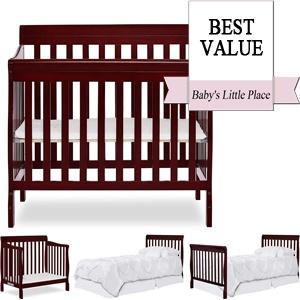 Best Mini Cribs - Dream On Me Aden