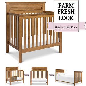 Best Mini Cribs - DaVinci Autumn 4-in-1 Convertible Mini Crib