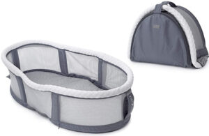 Baby Delight Snuggle Nest Peak Portable Bassinet