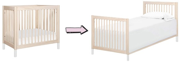 Babyletto Gelato 2-in-1 Mini Crib Conversions