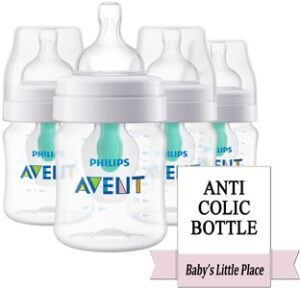 Best Anti-Colic Baby Bottle - Feeding Bottle with Vent