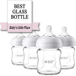 Best Baby Glass Bottle: Philips Avent Natural Glass Baby Bottle