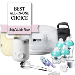 Best Baby Bottle Set: Tommee Tippee Starter-Kit