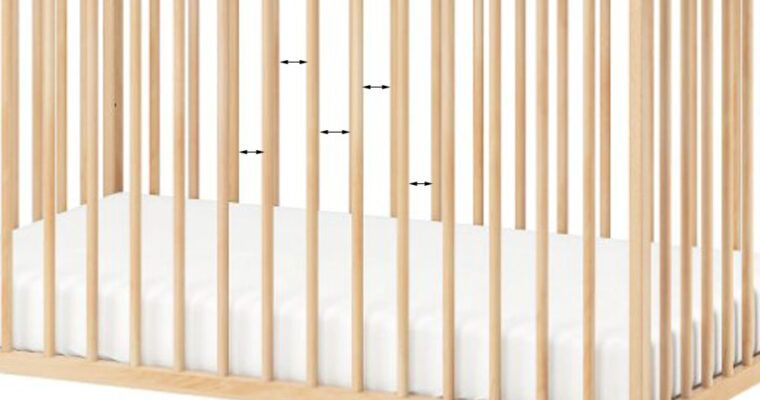 What is The Safe Distance Between Crib Slats?