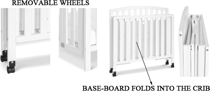 DaVinci Dylan Mini Crib's Portability Review