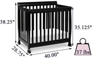 DaVinci Kalani 4-in-1 mini crib Review