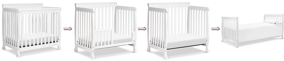 DaVinci Kalani Mini Crib's Convertibility Review
