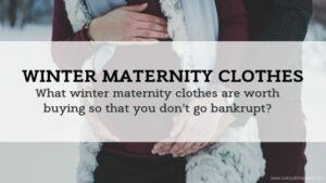Wardrobe for a Winter Pregnancy