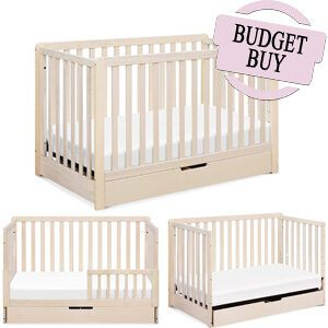 Babyletto Mercer 3-in-1 Convertible Crib with Toddler Bed Conversion Kit - Budget Buy