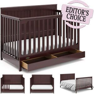 Best Convertible Cribs With Drawers Underneath - Editor's Choice