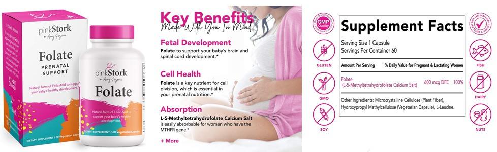 Micronutrient Needs in Pregnancy: Folic Acid - Pink Stork