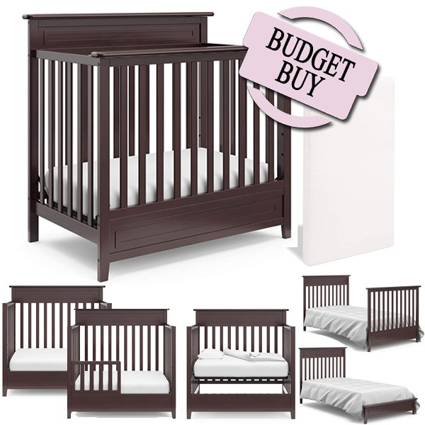 Best Convertible Mini Cribs: Best Value For The Price